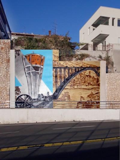 Šibenski mural Vukovaru na dar