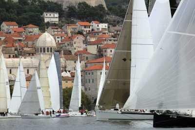 Šibenska regata krstaša (Foto: Jozica Krnić)