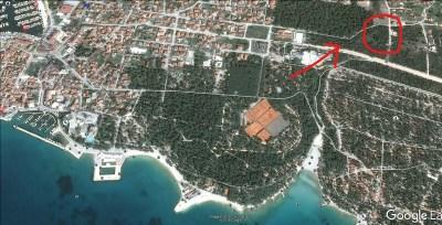 Šuma se nalazi u crvenom krugu (foto Google Earth)