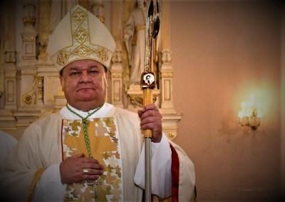Biskup lovac Hezjak (foto Križevačko-bjelovarska biskupija)