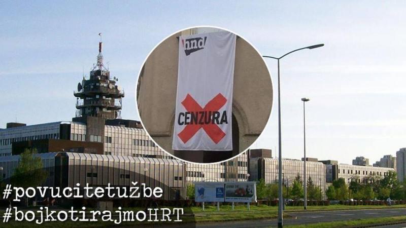 Bojkotu HRT-a pridružili su se politička platforma Možemo! i Radnička fronta: HRT se pretvorio u nositelja borbe protiv slobode medija
