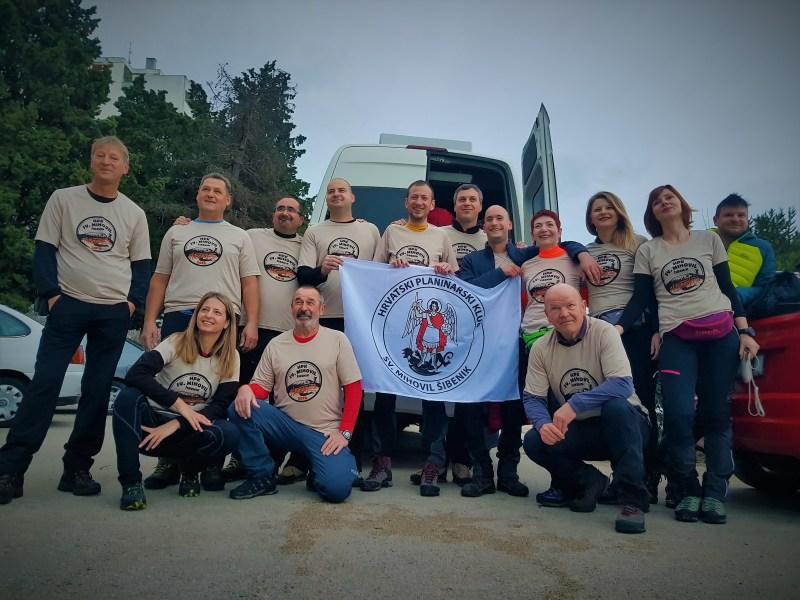 'Kilimanđarci' neposredno pred polazak (foto TRIS/G. Šimac)