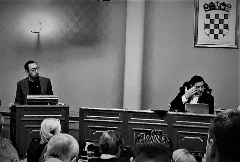 Tomislav Tomašević na današnjoj sjednici ZG-Skupštine (foto Facebook)