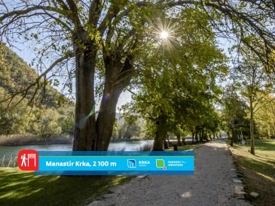 "NP ""Krka"" predstavlja svoje pješačke staze: Stazom pod koštelama do manastira Krka"