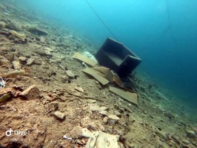 Divljaštvo: Fotelja za podmorski predah (foto Kristijan Grčić/Ronilački klub Dolac)