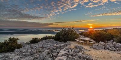 Vidikovac iznad Vranskog jezera (foto PP Vransko jezero)