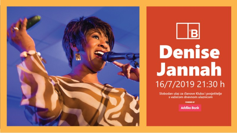 Svjetski jazz na Baroneu: Denise Jannah pjeva u noći punog mjeseca