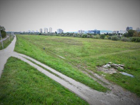 Otpad na nasipu pored Save (foto TRIS/G. Šimac)
