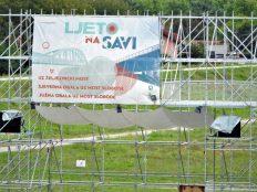 Konstrukcija tzv. LJeta na Savi (foto TRIS/G. Šimac)