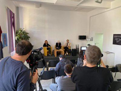 S današnje press-konferencije o gospodarenju otpadom (foto Zelena Istra)