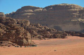 Kamp u pustinji Wadi Rum (foto: Joso Gracin Joka/Nina Živković)