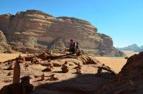 Odmor na stijeni na kojoj se odmarao i Lawrence od Arabije (foto: Joso Gracin Joka/Nina Živković)