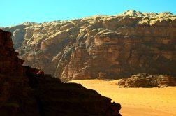 Ovdje su snimani filmovi Lawrence od Arabije, Ratovi zvijezda i mnogi drugi. Pustinja Wadi Rum (foto: Joso Gracin Joka/Nina Živković)