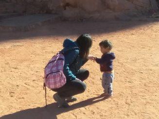 U beduinskom kampu Nina i Hadidov sin (foto: Joso Gracin Joka/Nina Živković)