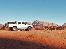 Toyota Hilux jedina trpi pustinju, vele beduini (foto TRIS/G. ŠIMAC)
