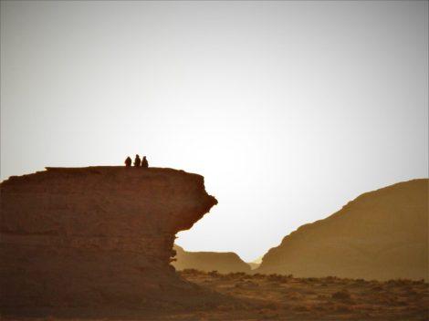 Zalazak na stijeni (foto TRIS/G. ŠIMAC)