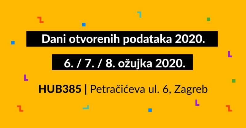 Nek' ti kušin bude laptop, hakiraj za bolju Hrvatsku: Počinju Dani otvorenih podataka