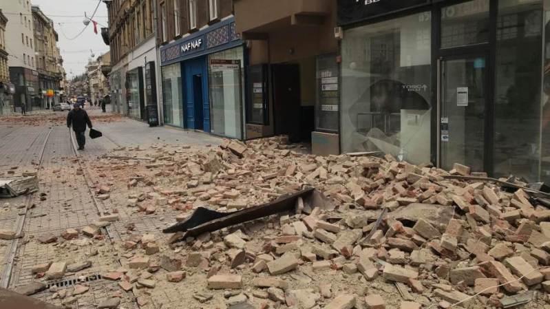 Potres u Zagrebu (foto N1)