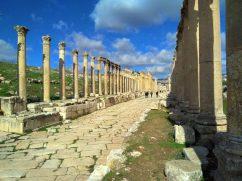 Šetnja kroz Cardo Maximus - Gerasa (foto J. Gracin)