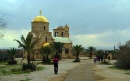 Crkva sv. Ivana Krstitelja na obali Jordana (foto J. Gracin)