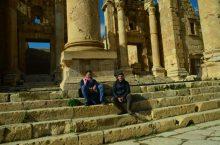 Odmor među hramovima Gerase(foto J. Gracin)