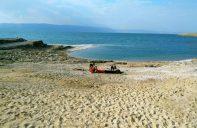 Plaža na kojoj smo ručali i odmorili se (foto J. Gracin)
