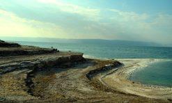 Polagano nestajanje Mrtvog mora (foto J. Gracin)