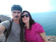 Selfie na mrtvomorskoj obali (foto J. Gracin)