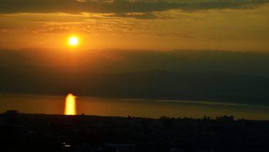 Večernja bonaca na Mrtvom moru(foto J. Gracin)