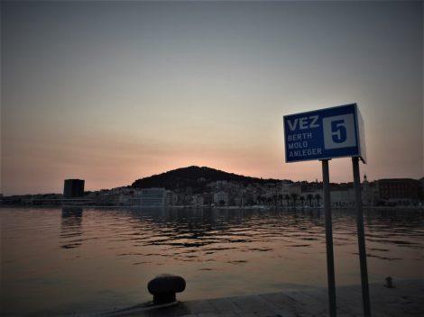 Na vezu broj 5 nema brodova (foto TRIS/G. Šimac)