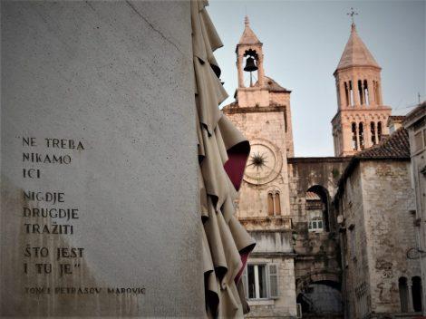'Ne treba nikamo ići...' govorio je Tonći Petrasov Marović - nešto kao 'Ostani doma' (foto TRIS/G. Šimac)