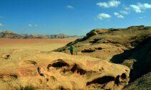 Goran stiže iz pustinjskog prostranstva (foto Joso Gracin)