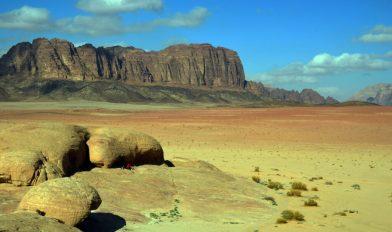 Mjesto na kojem smo ručali u pustinji (foto Joso Gracin)
