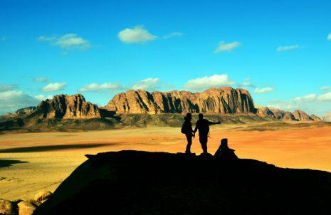 Ogromna, puna jeke, božanska - pustinja Wadi Rum (foto Joso Gracin)