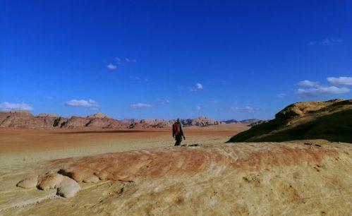 U prostranstvu Wadi Ruma (foto Nina Živković)