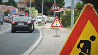 Jedan od semafora na Jadranskoj magistrali u Brodarici (foto TRIS)