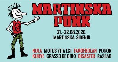 Punk nije mrtav, nije ga ubio virus: Punk-vikend s punk evergreenima na Martinska Punk Festivalu u Šibeniku