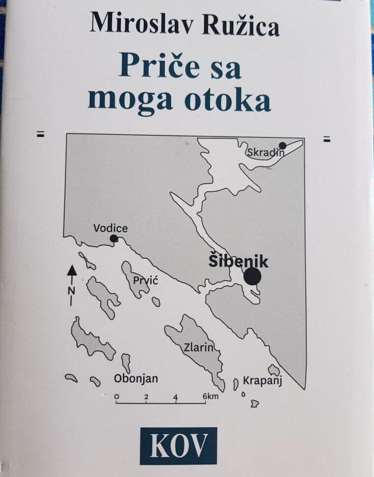 """Knjiga za Prvićane, one koji se tako osjećaju i ostale: """"Priče s mog otoka"""" Miroslava Ružice"""