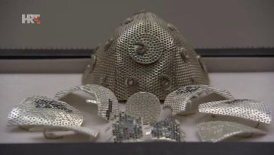 Maska od 1,5 milijuna $ (foto printscreen HRT)