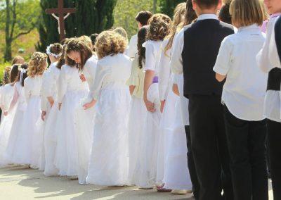 ARHIVA - Ilustracija - crkveni obredi na kojima je mnoštvo djece Photo: Marijan Susenj/PIXSELL