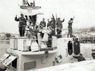 Osvojeni ratni brod