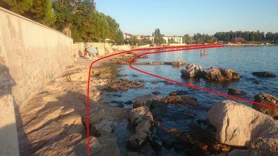 U Umagu grade najveću morsku šetnicu na Jadranu, ekolozi upozoravaju da će se uništiti prirodna obala