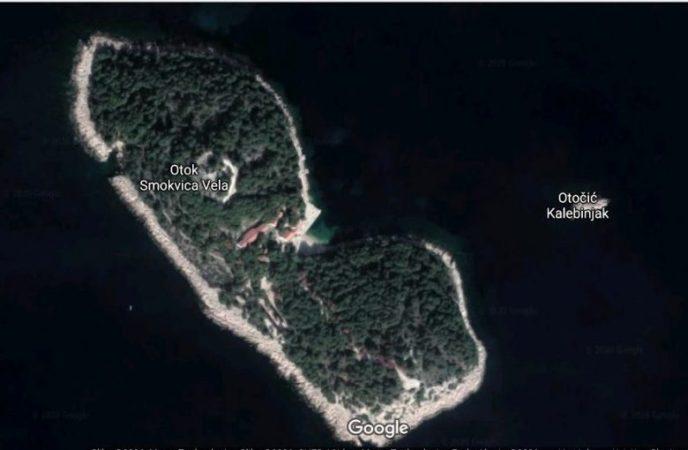 Otok Smokvica (foto Google)