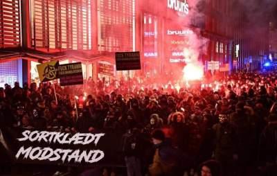 Kopenhagen: Danci na ulicama zbog korona-mjera i uvođenja tzv. putovnice cijepljenja