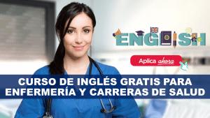 Curso de inglés gratis para enfermería y carreras de salud
