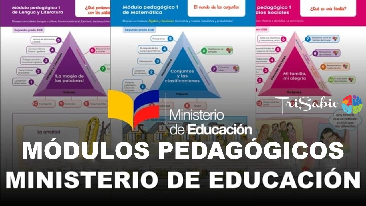 Módulos Pedagógicos del Ministerio de Educación
