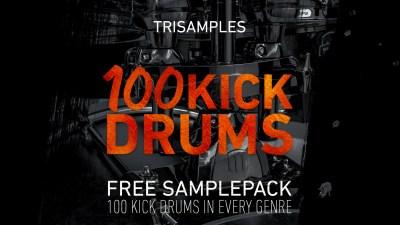 TriSamples - 100 Kick Drums Vol 1 Artwork