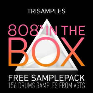 TriSamples 808s In The Box Square Artwork