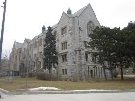 Queen's University building... More CaRMS.