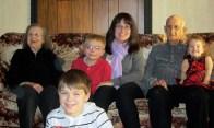 Memere, Pepere and the grandchildren.